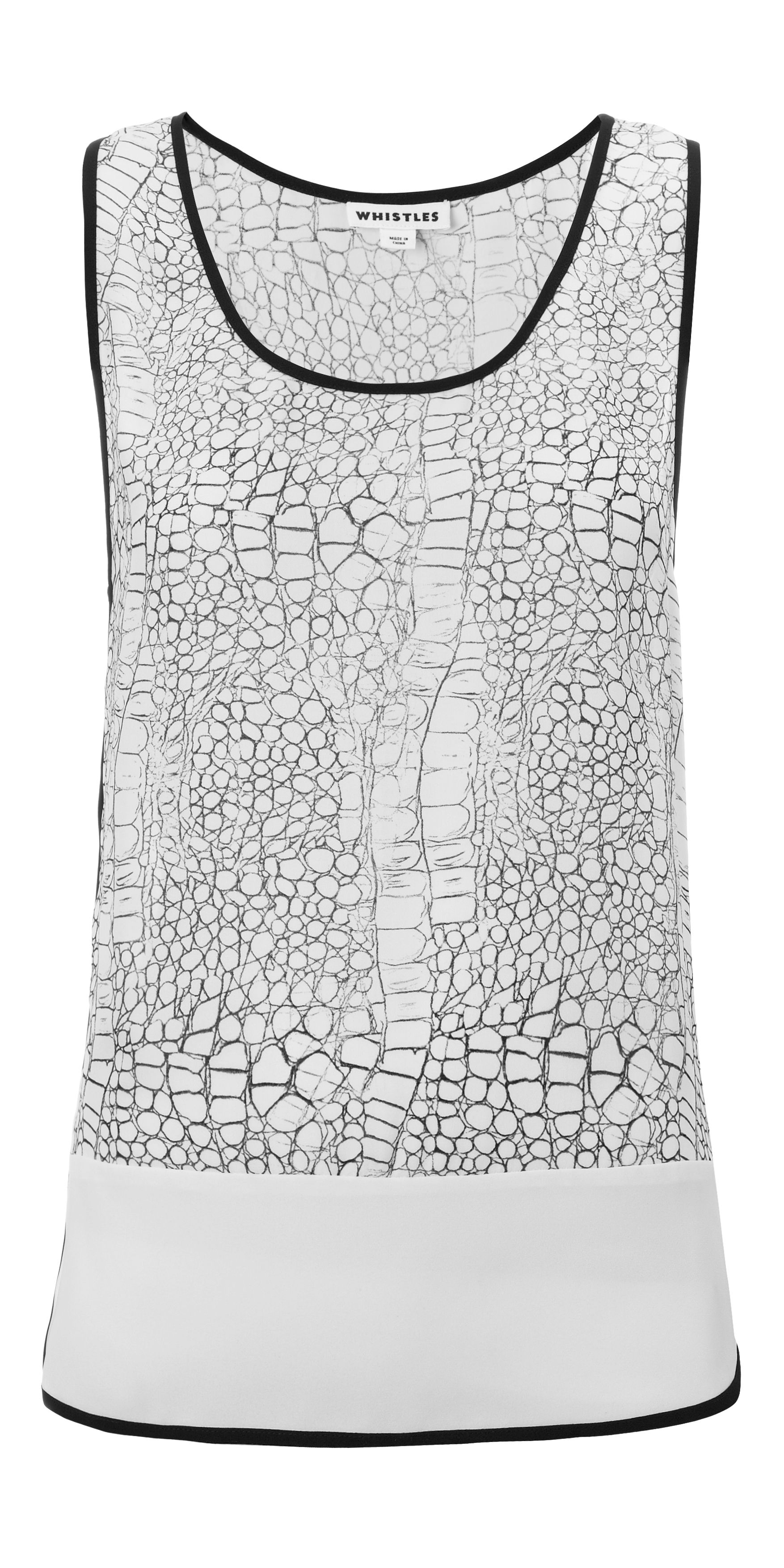 Dragon skin vest top