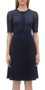 Tillie Lace Insert Dress