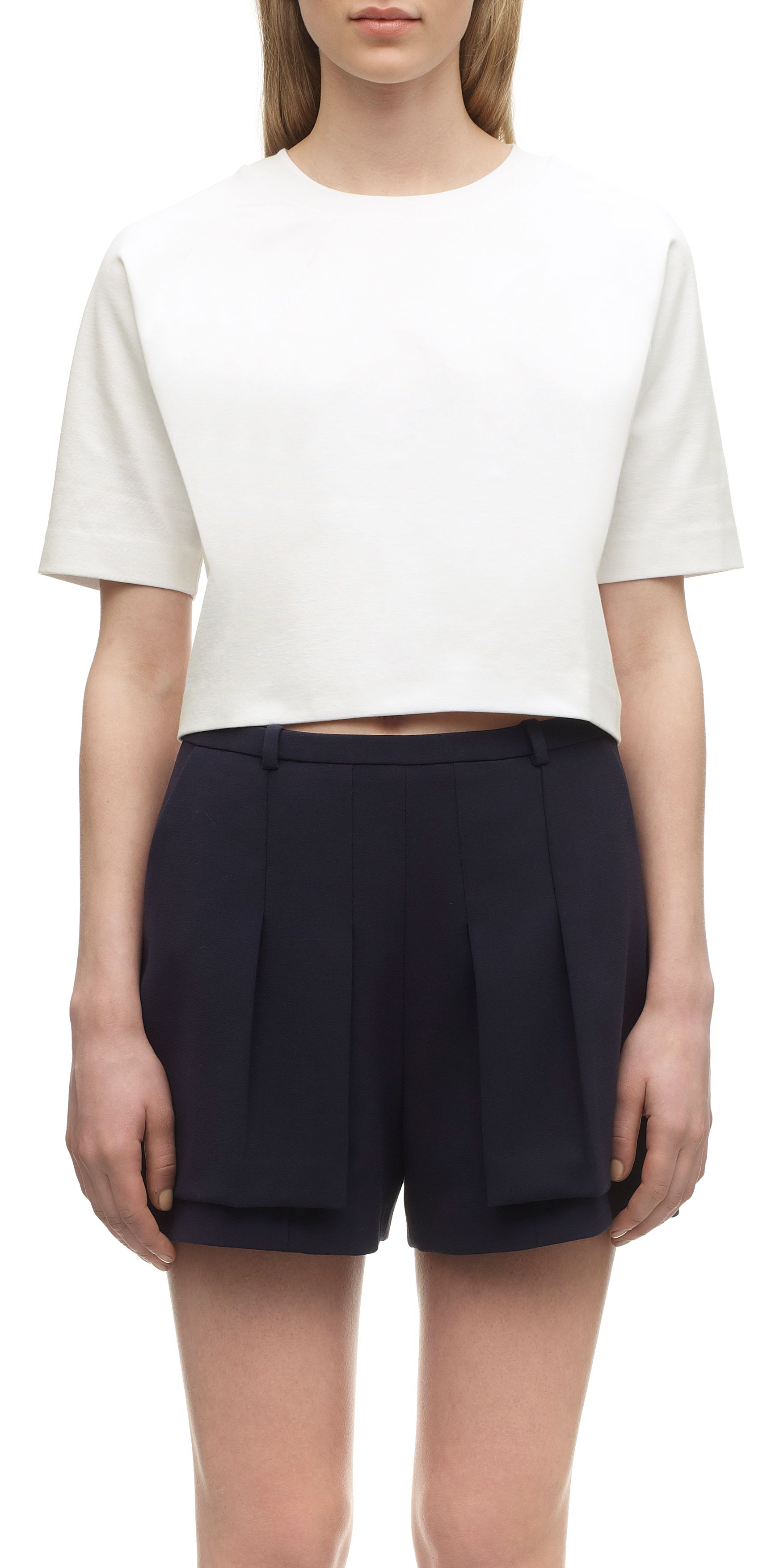 Evie Dart Detail Cropped Top
