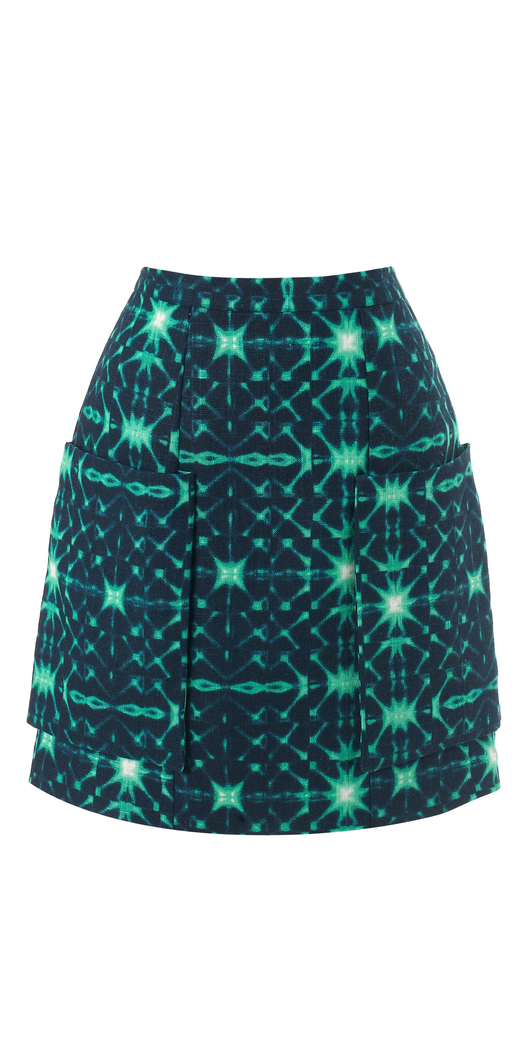 Kalidoscope pocket skirt