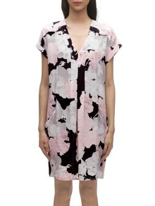 Rosewater print adrianne dress