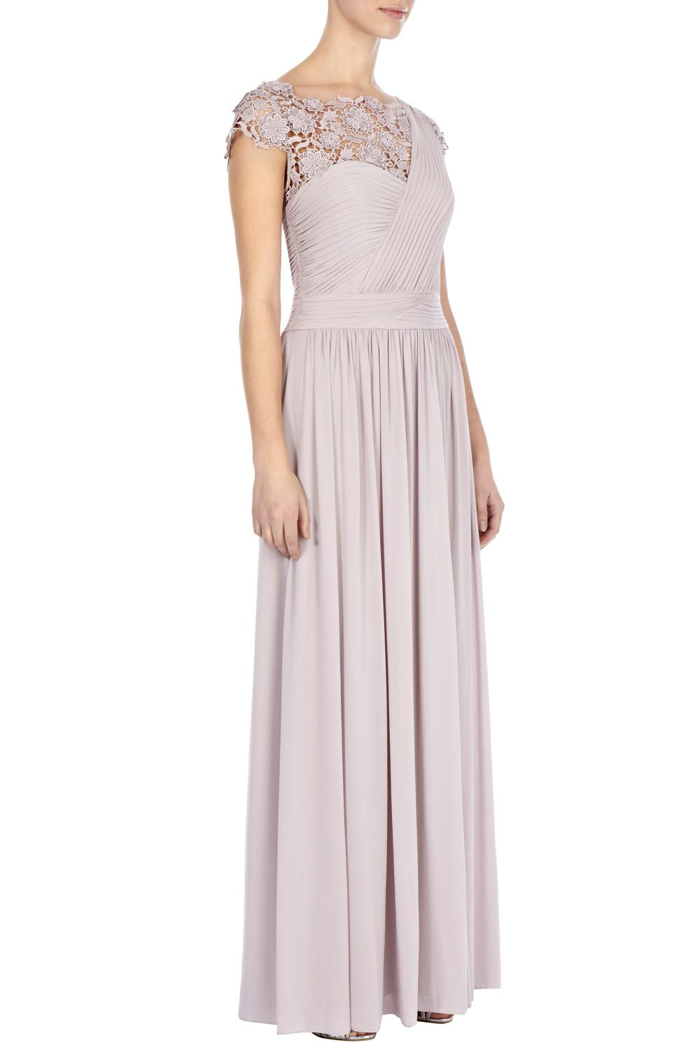 Millie lace maxi dress