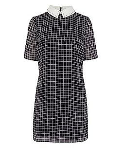Jaxson check shirt dress