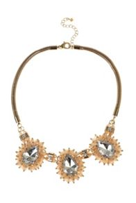 Cady cluster necklace