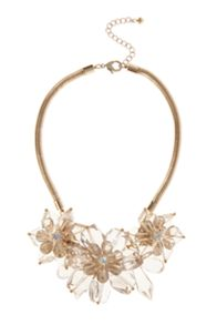 Freya floral necklace
