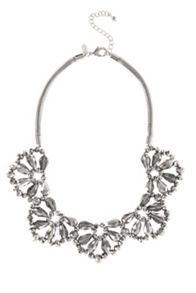 Sparkle collar necklace