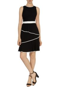 Malvina Tipped Dress
