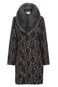 Coast Morzine lace bonded coat