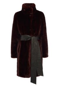 Moscow faux fur coat