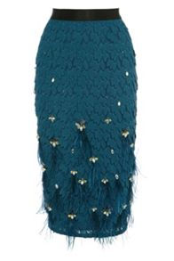 Coast Romina feather skirt