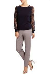 Val lace jumper
