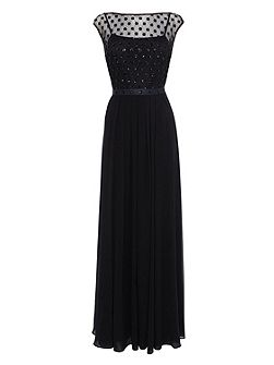 Lori Lee Cluster Maxi Dress