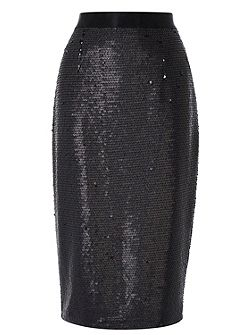 Ashlynne sequin skirt