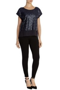 Ruvern sequin top