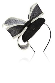 Coast Penny bow pill box fascinator