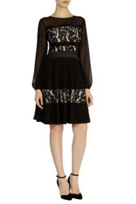 Delphina lace dress