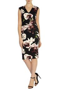Winter lily  jagger dress