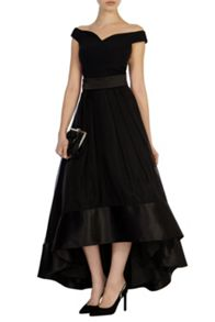 Coast Rhian organza skirt