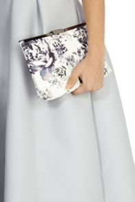 Coast Lyon printed maisy clutch