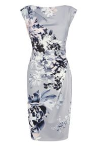 Lyon print calia dress