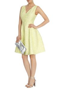 Amberley jacquard dress