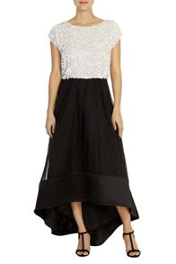 Coast Rhian Organza Skirt Shorter Length