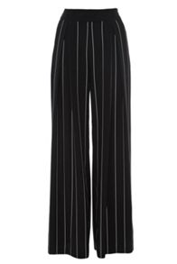 Coast Lile stripe wide leg trousers
