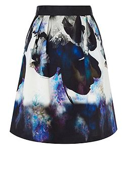 Coast Sailia printed skirt