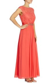 Coast Lori Lee Lace Maxi Dress