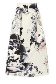 Coast Miriam printed skirt
