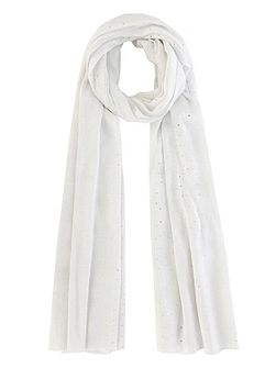 Lurex sequin scarf