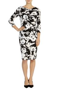 Henley print harmony dress