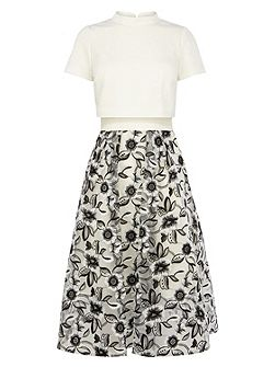Sharon floral skirt dress