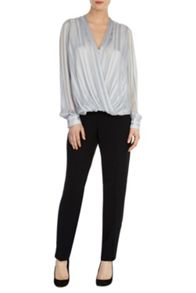 Coast Silina stripe blouse