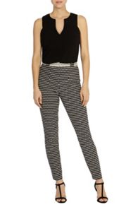 Coast Dayo jacquard trousers