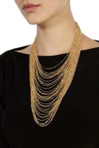 Coast Carmela multi chain necklace