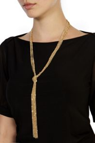 Coast Carmela longline knot necklace