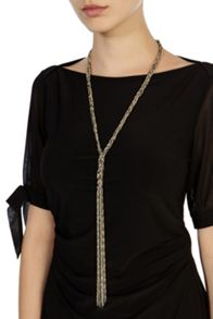Coast Evie plated longline necklace