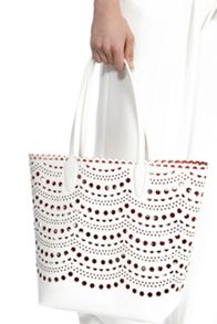 Coast Laser cut shopper bag