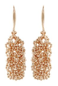 Coast Sparkle chain earrings
