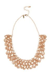 Coast Sparkle chain necklace