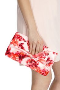 Coast Printed bow bag