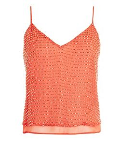 Geona beaded top