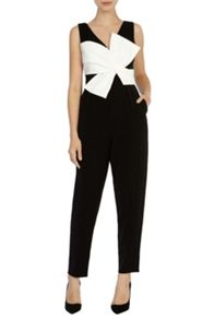 Coast Santana bow jumpsuit