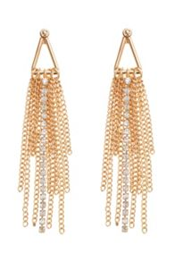 Coast Tassel statement earrings