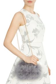 Coast Angelique feather bag