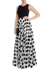 Coast Dotty maxi dress