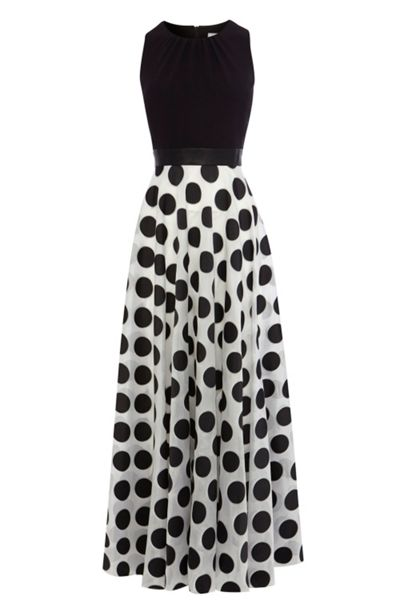 Coast Dotty Maxi Dress Petite