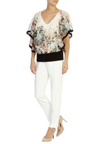Coast Sassori printed calla top