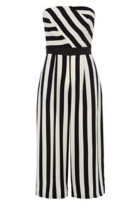 Coast Selena stripe jumpsuit